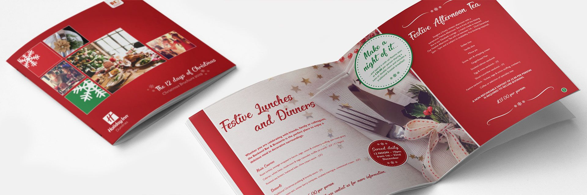 Holiday Inn Christmas Brochure