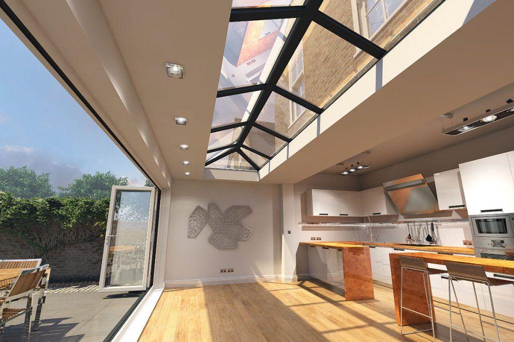 3D visualisation of Kitchen