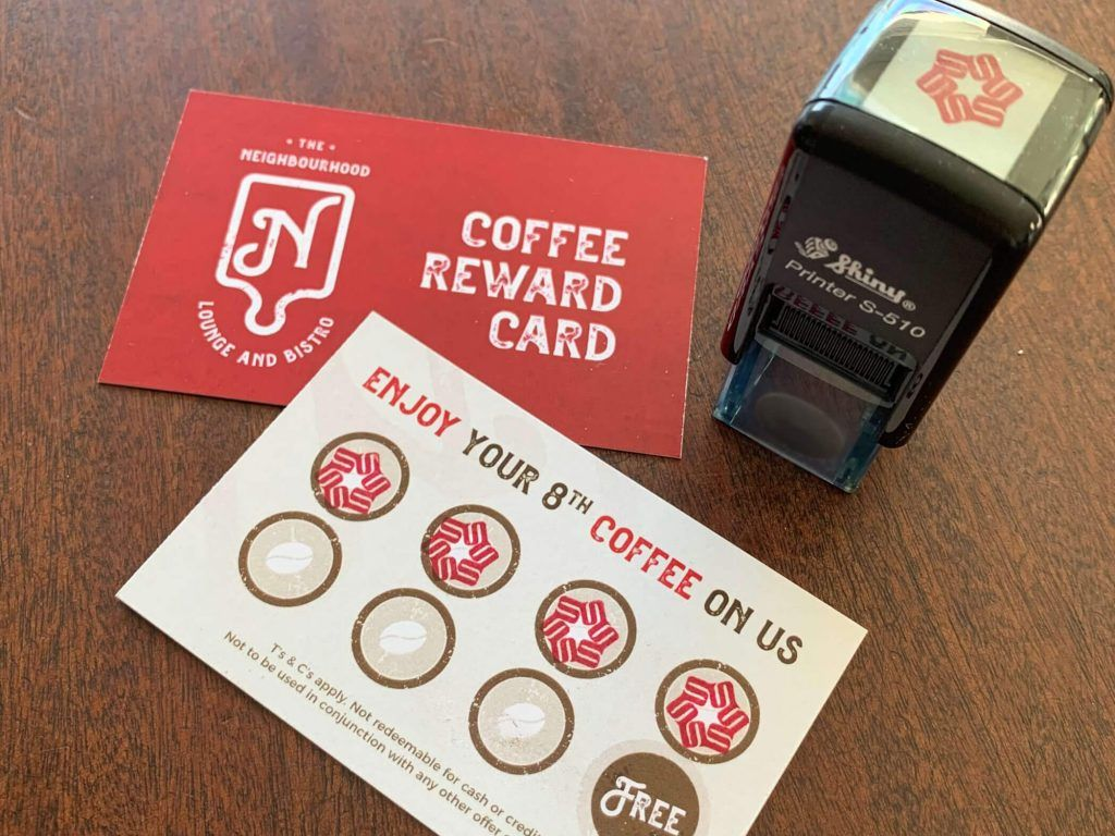 Loyalty Coffee Cards and Stamp